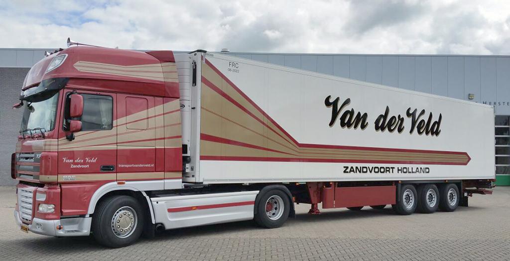 vrachtwagen Transport Van der Veld Zandvoort