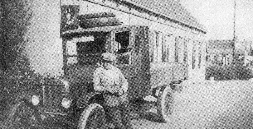 geschiedenis Transport Van der Veld T Ford van het familiebedrijf